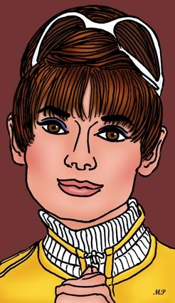 Audrey Hepburn by MP69